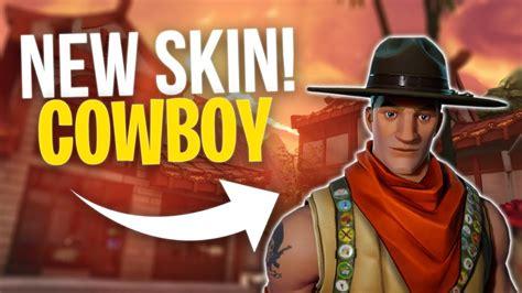 Fortnite NEW EPIC SKIN Cowboy Gameplay Sash Sergeant - YouTube