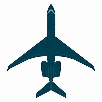 Bombardier Global 6000 Aircraft 6500 Boeing Cad