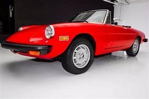 1977 Alfa Romeo 2000 Veloce Spider Manual Convertible