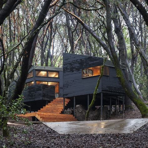 House In The Forest by The Forest House In Northern California Ignant