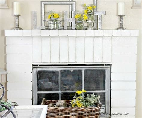 early home decorating ideas for fireplace mantels