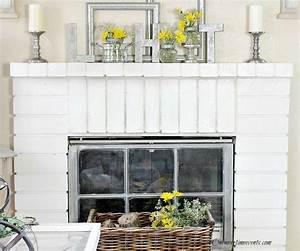 early spring home decorating ideas for fireplace mantels With fireplace mantel decor ideas home