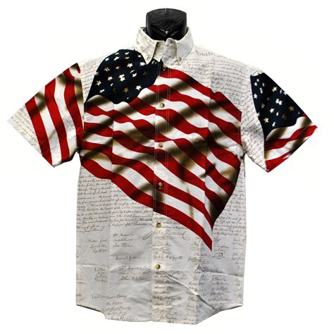 constitution flag shirt