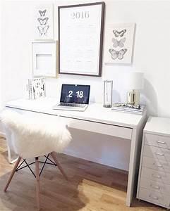 Schreibtisch Im Schlafzimmer : ein heller aufger umter arbeitsplatz working pinterest arbeitspl tze aufr umen und b ro ~ Sanjose-hotels-ca.com Haus und Dekorationen