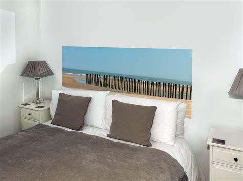 lambris pvc chambre sticker tête de lit quot mer du nord quot en trompe l 39 oeil