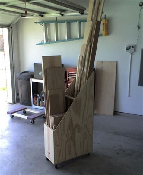 scrap wood storage cart woodworking projects plans
