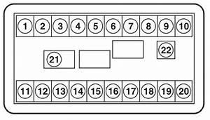 Maruti Suzuki Zen Estilo - Fuse Box Diagram