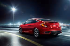 2019 Honda Civic Coupe by 2019 Honda Civic Sedan Coupe Feature Refreshed Styling