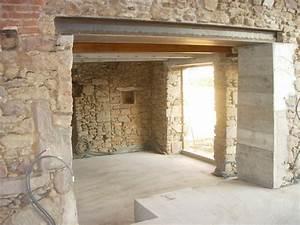 ouverture mur porteur comment ouvrir un mur bricobistro With ouverture porte mur porteur