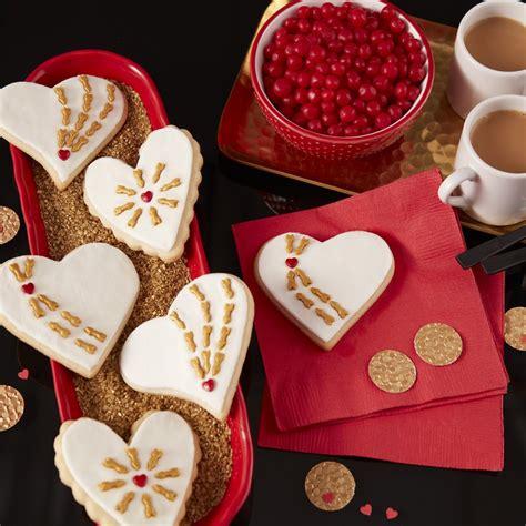 cupids arrow valentine cookies
