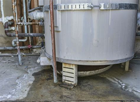 water heater signs broken damaged replace