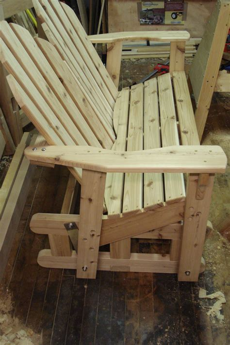 wooden  wood glider bench plans  plans