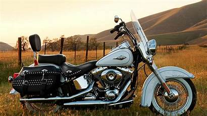 Harley Davidson Softail Heritage Desktop Classic Flstc
