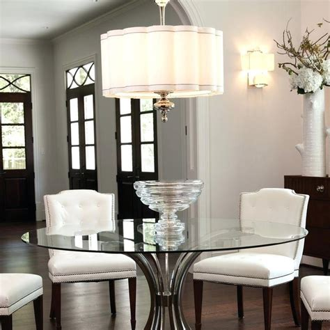 how high to hang chandelier dining room table