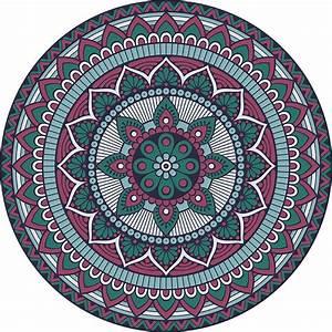 Tapis Rond Mandala : tapr0210 ~ Teatrodelosmanantiales.com Idées de Décoration