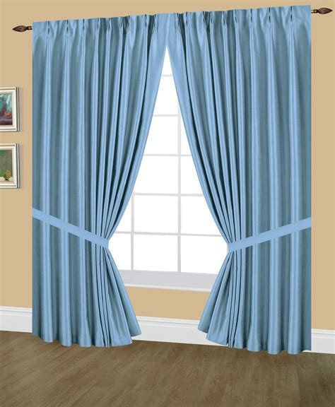 Pleated Drapes With Hooks - elaine faux silk pinch pleated lined drapes width