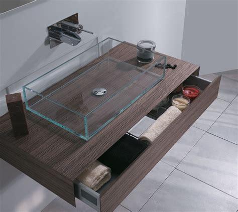 lavabi moderni bagno lavabi in vetro per il bagno moderno