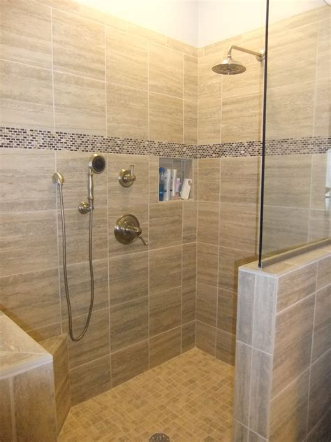 Tiled Walk In Showers by Under Construction