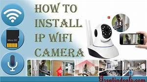 V380 Ip Camera Unboxing   Installation  U0026 Configuration