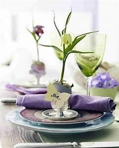 Assiette Originale Moderne : d co printemps id es de d coration de table printani re ~ Teatrodelosmanantiales.com Idées de Décoration