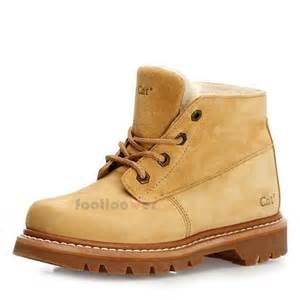 cat boots pouty caterpillar cat footwear p305756 s honey ankle