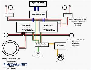 6 Speakers 4 Channel Amp Wiring Diagram