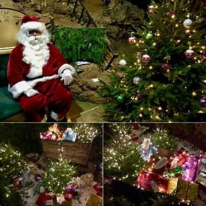 The Grotto Lights Review Santa Clearwell Caves Forest Of Dean Travel