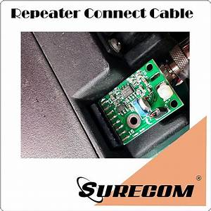 Surecom Repeater Cable For Surecom System To Motorola Gm