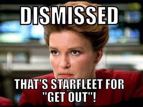 Star Trek Voyager Meme - startrek captain janeway one sheila you do not mess with startrek classics pinterest