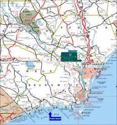 Holden Beach NC Map