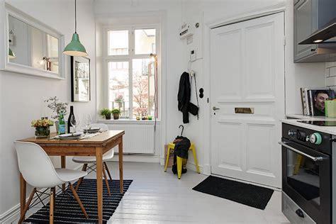 one room studio apartment scandinavian one room studio apartment in gothenburg digsdigs