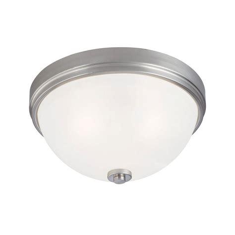 brushed nickel flush mount ceiling light westinghouse 3 light ceiling fixture brushed nickel