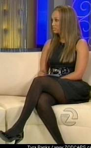 Celebrity Legs And Feet In Tights Tyra Banks Legs And