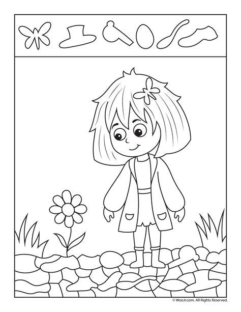 flower picture activity woo jr 676 | spring rain hidden pics