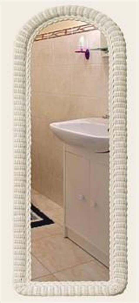 wicker mirror full length mirror bathroom wall mirrors