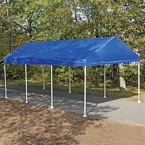 buy shelterlogic replacement cover     celebration canopy  blue  bed bath