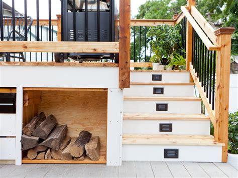 creative deck storage ideas integrating storage   outdoor space ideas  homes