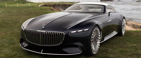 Mercedes-maybach Reveals New Futuristic Convertible