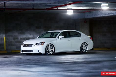 lexus gs  light tuning project  vossen wvideo