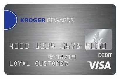 Prepaid Card Visa Kroger Rewards Debit Cards