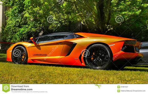Sports Cars, Super-cars, Lamborghini Aventador Editorial