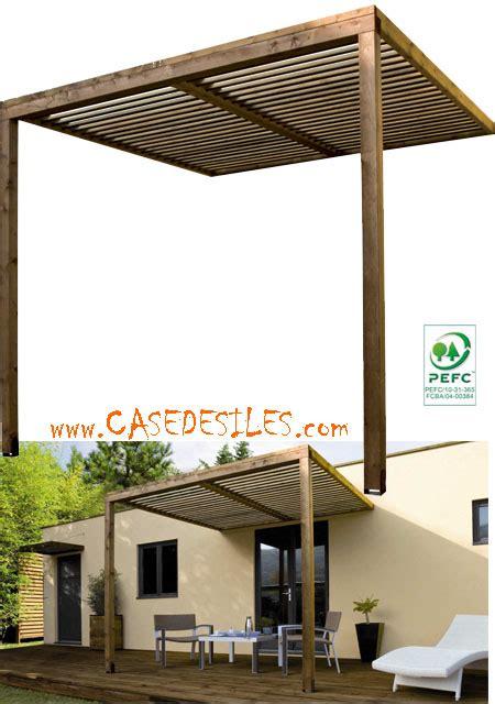 auvent de terrasse auvent bois casedesiles