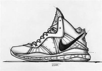 Nike Lebron Designs Petrie Jason Sketch Sketched