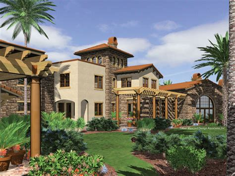 Southwest Style Home Plans  Home Design And Style