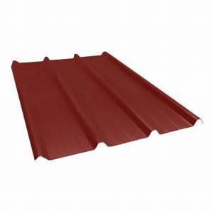 Tole Bac Acier Isolante : toiture t le bac acier rouge tuile 1ml x 6ml multimat 76 ~ Melissatoandfro.com Idées de Décoration