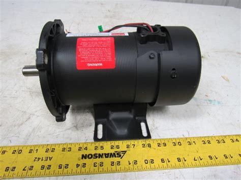 baldor md  hp dc permanent magnet motor  rpm