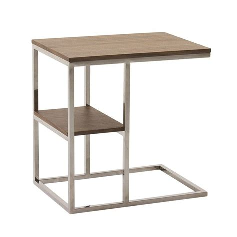 table d appoint table d appoint contemporaine 2 plateaux wally