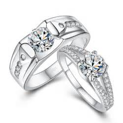 wedding ring sets his and hers wedding sets his and hers wedding sets cz rings