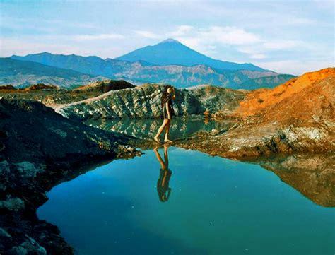 hits spot foto instagramable  danau asmara pemalang