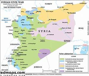 Syria Territorial Control July 28 2017